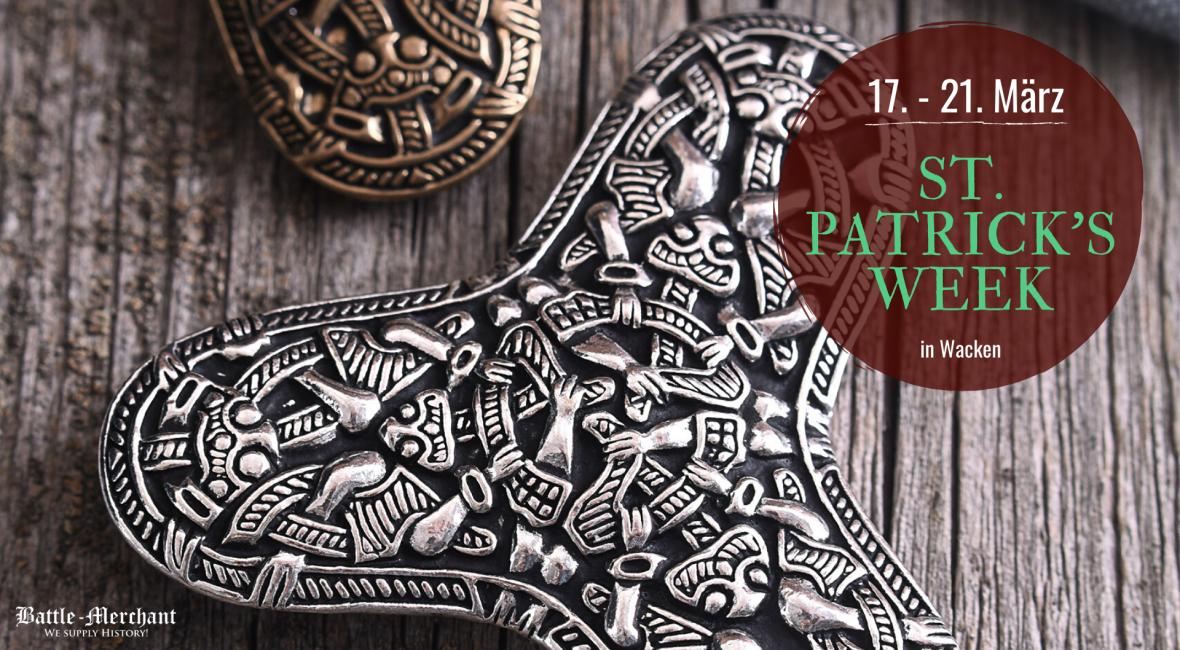 ST. Patrick's Week im Mittelalterladen in Wacken