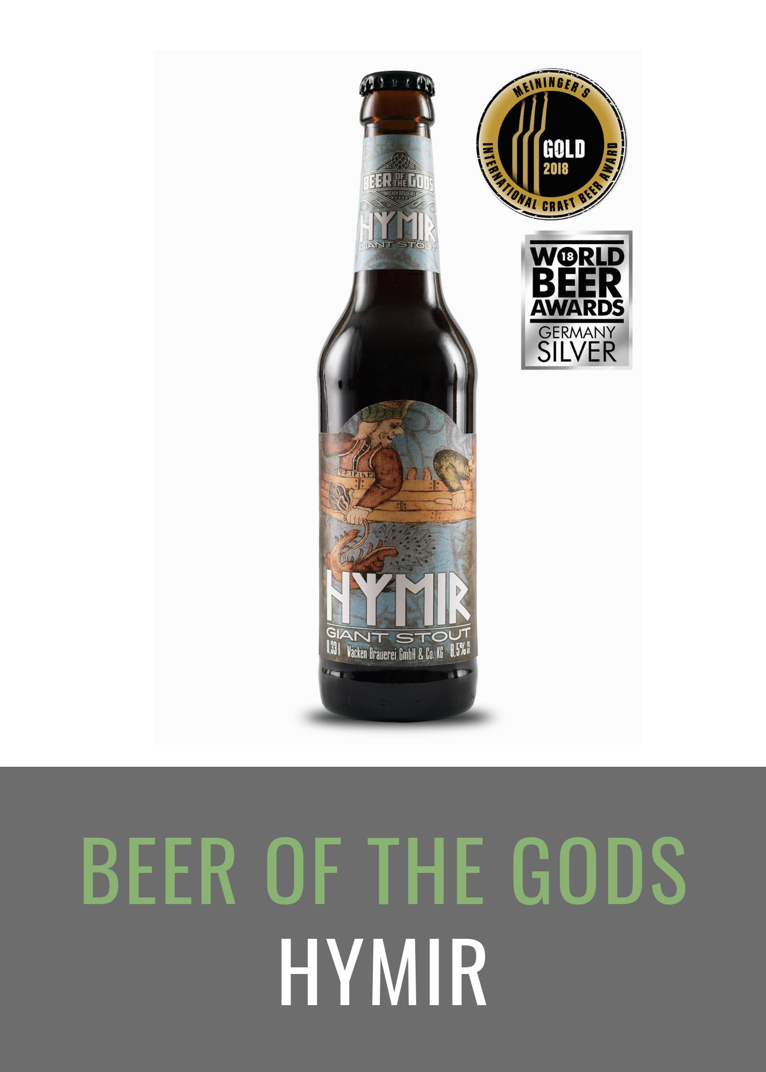 Hymir - Giant Stout, 0,33l Flasche - Wacken Brauerei