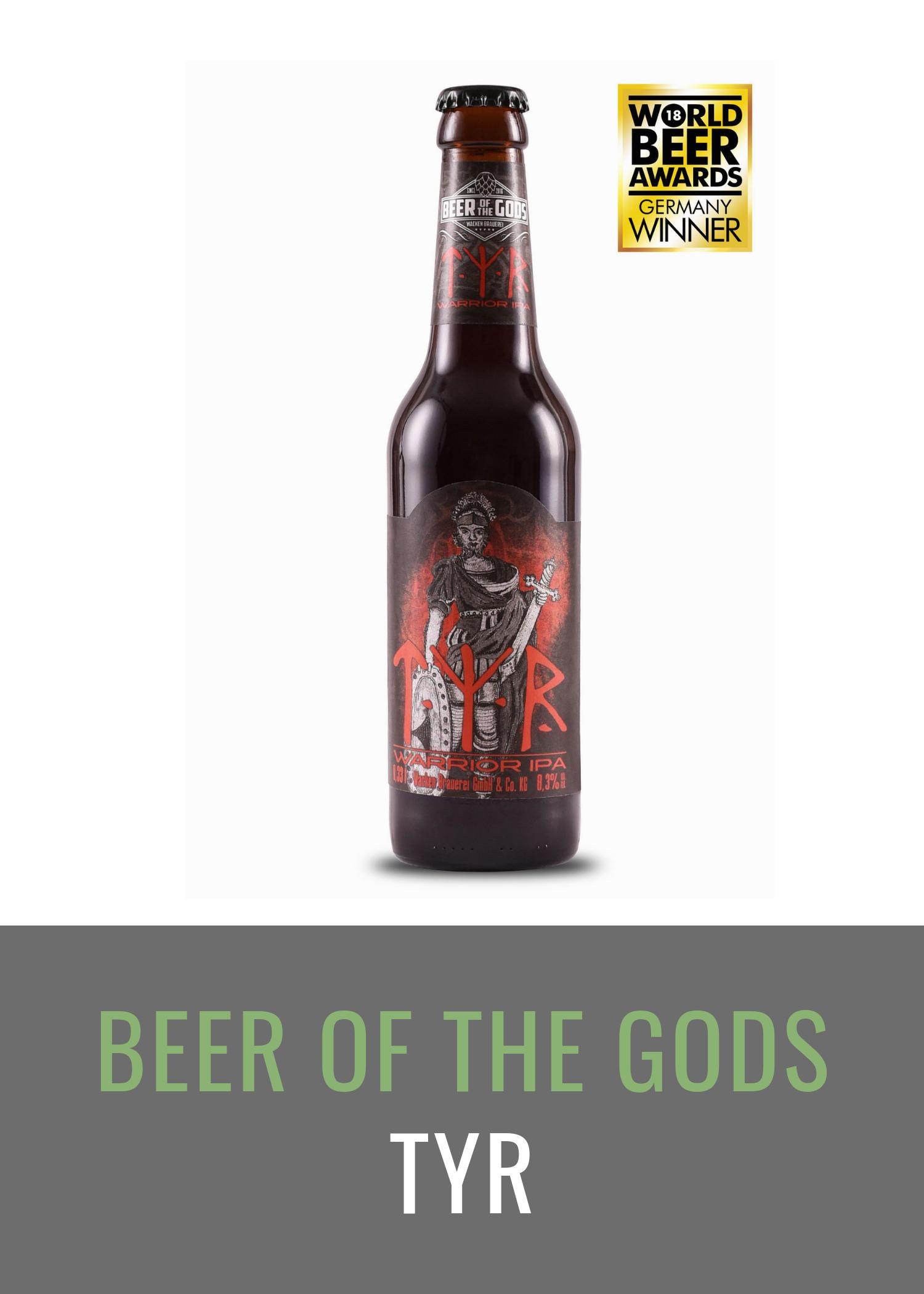 Tyr - Warrior IPA, 0,33l Flasche - Wacken Brauerei
