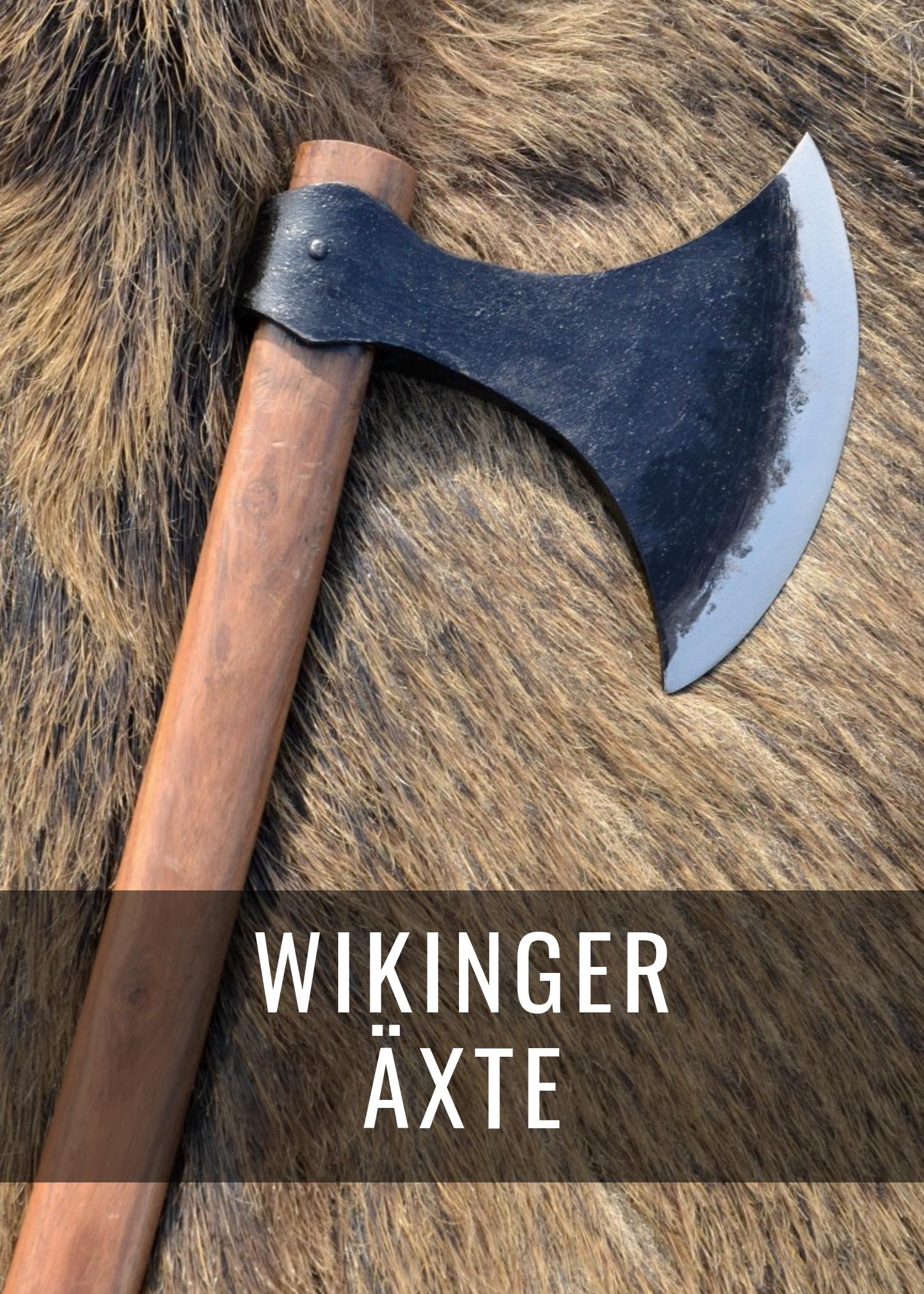 Alle Wikinger-Äxte auf einen Blick: Wurfaxt, Bartaxt oder Dänenaxt