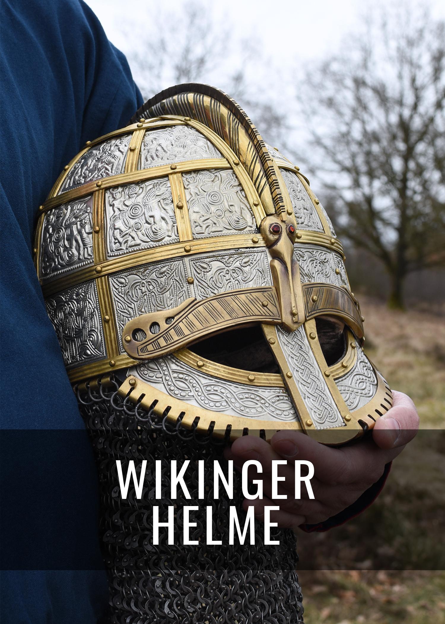 Helme der Wikinger - vom einfachen Nasalhelm bis zum aufwendig verzierten Brillenhelm