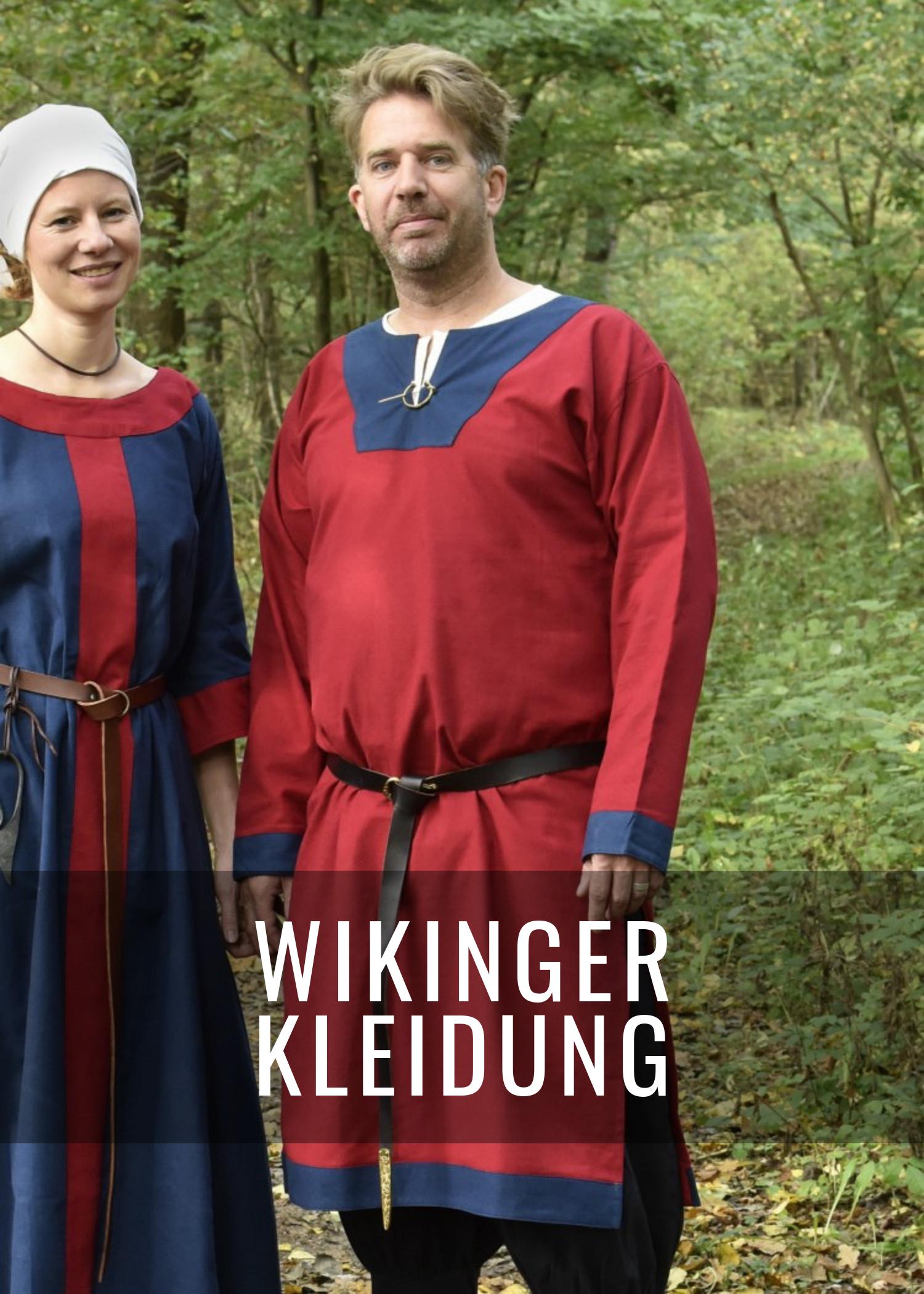 Wikinger Kleidung für Männer, Frauen und Kinder
