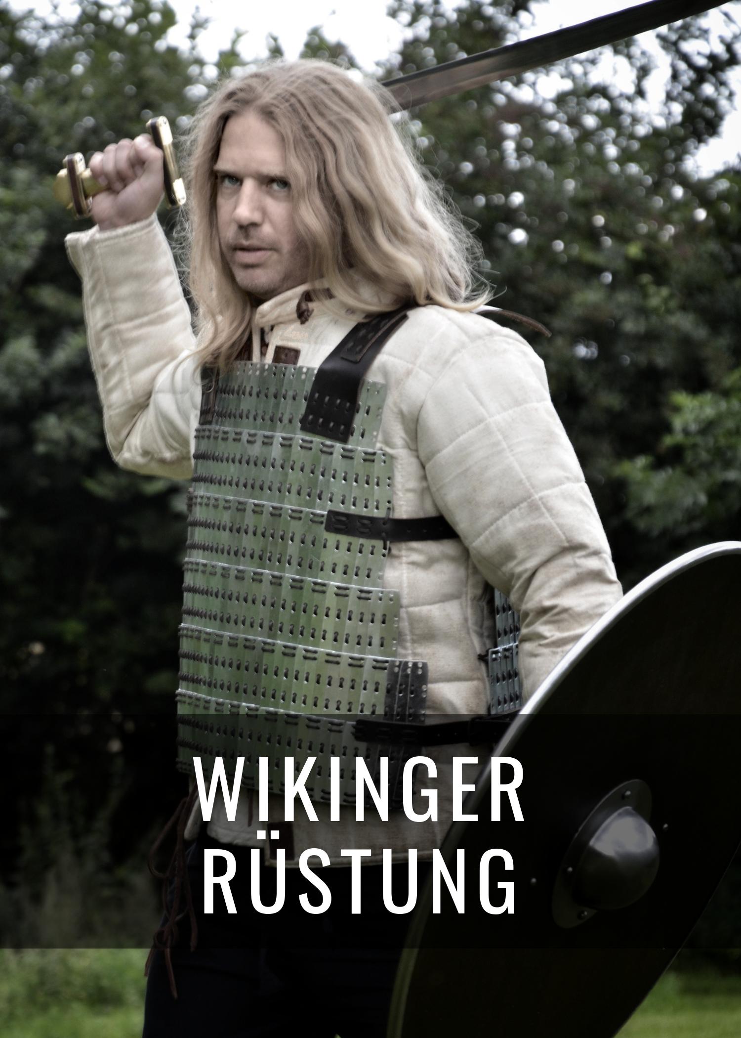Wikinger Rüstung - von Lederlamellen bis zum Birka Lamellenpanzer aus Stahl