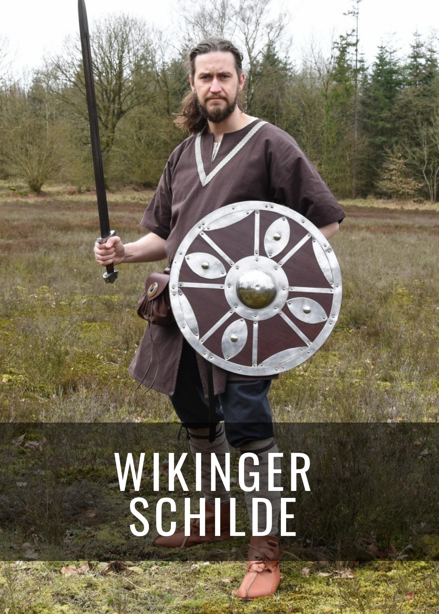 Schilde und Schildbuckel der Wikinger