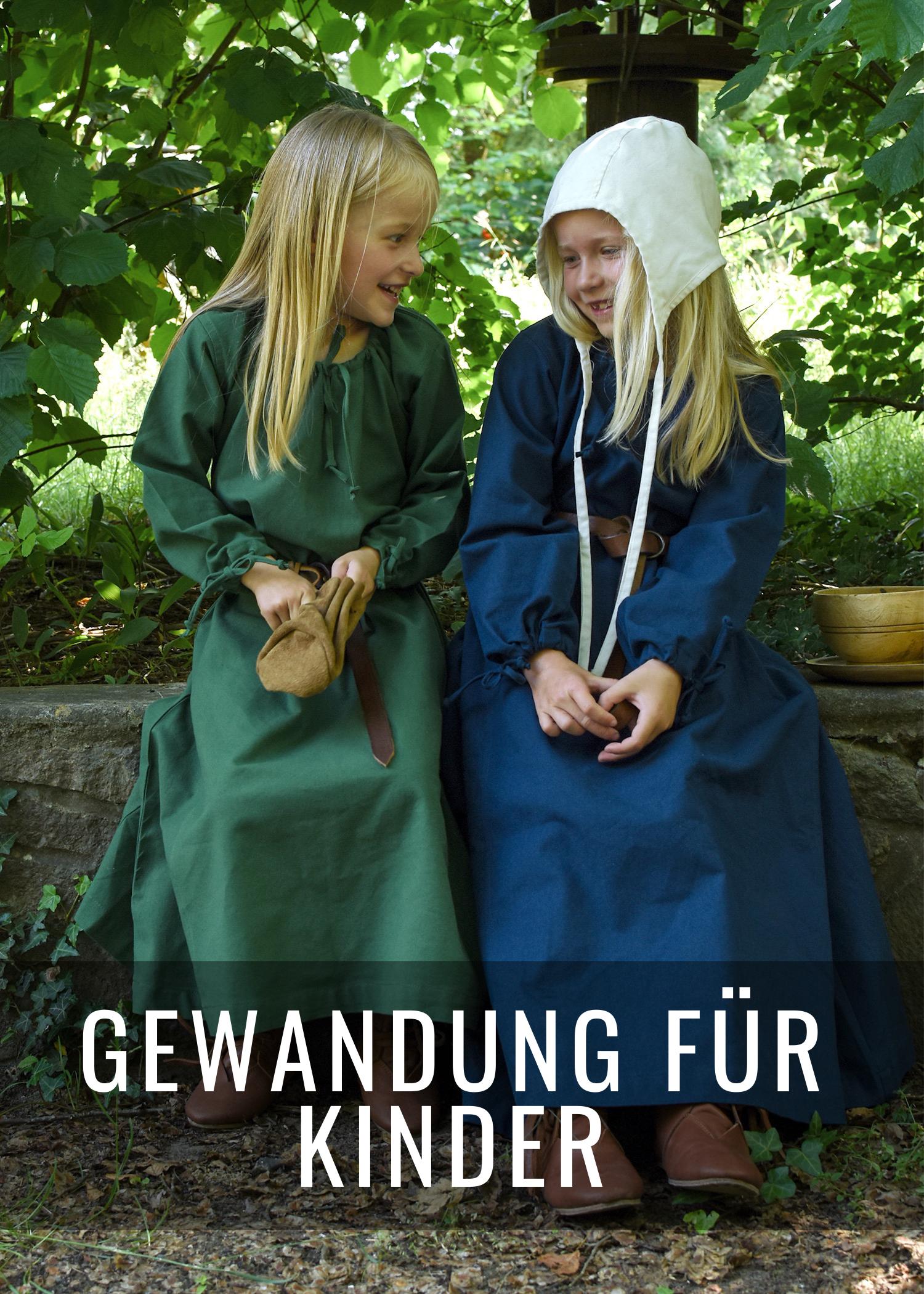 Mittelalter Kleidung für Kinder