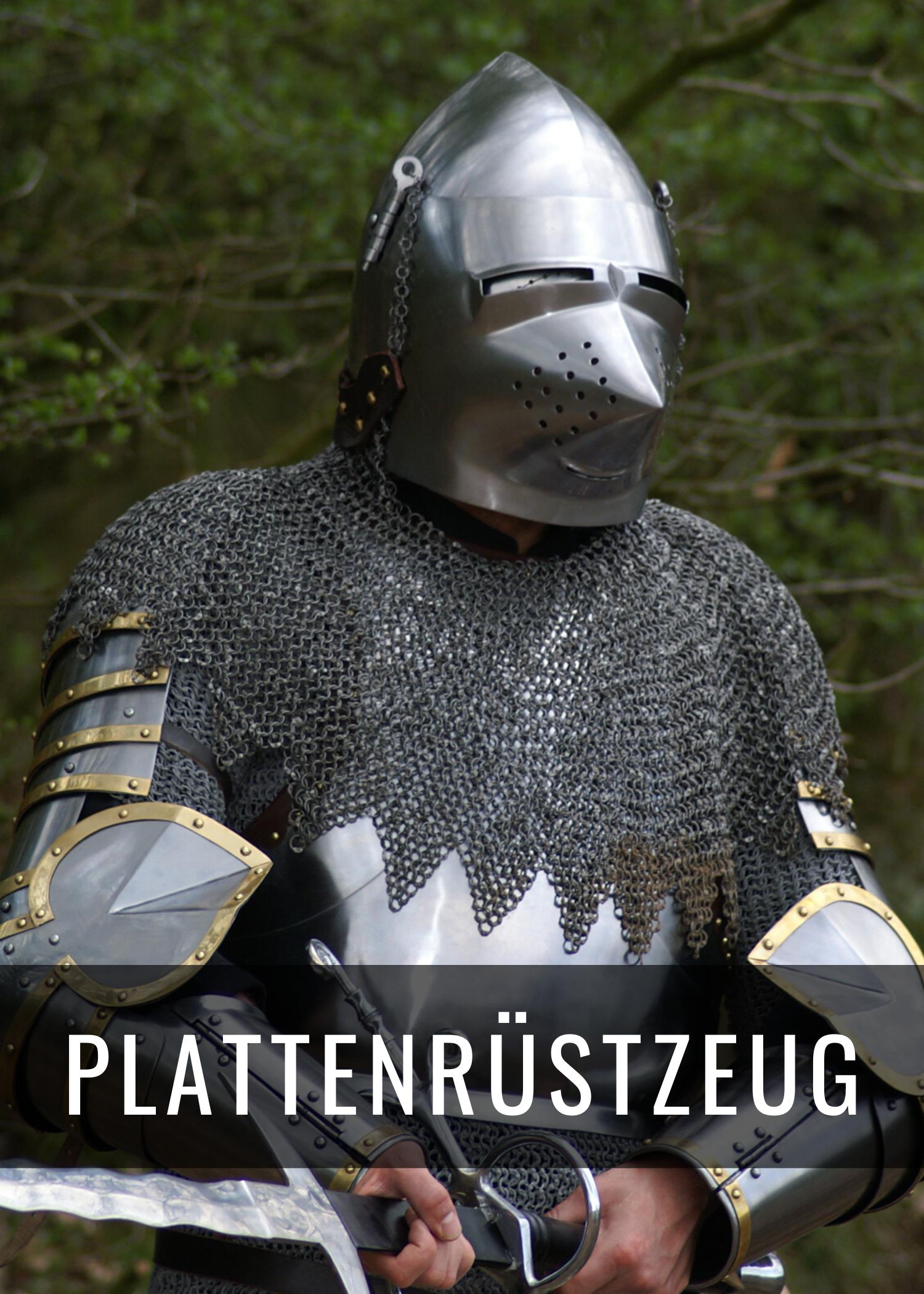 Historische Plattenrüstungen