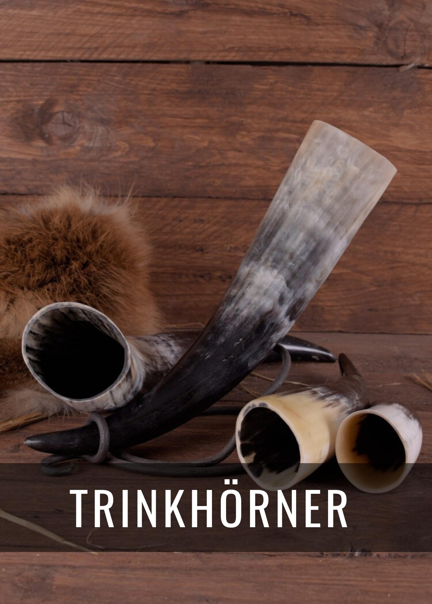 Trinkhörner und Trinkhorn-Ständer