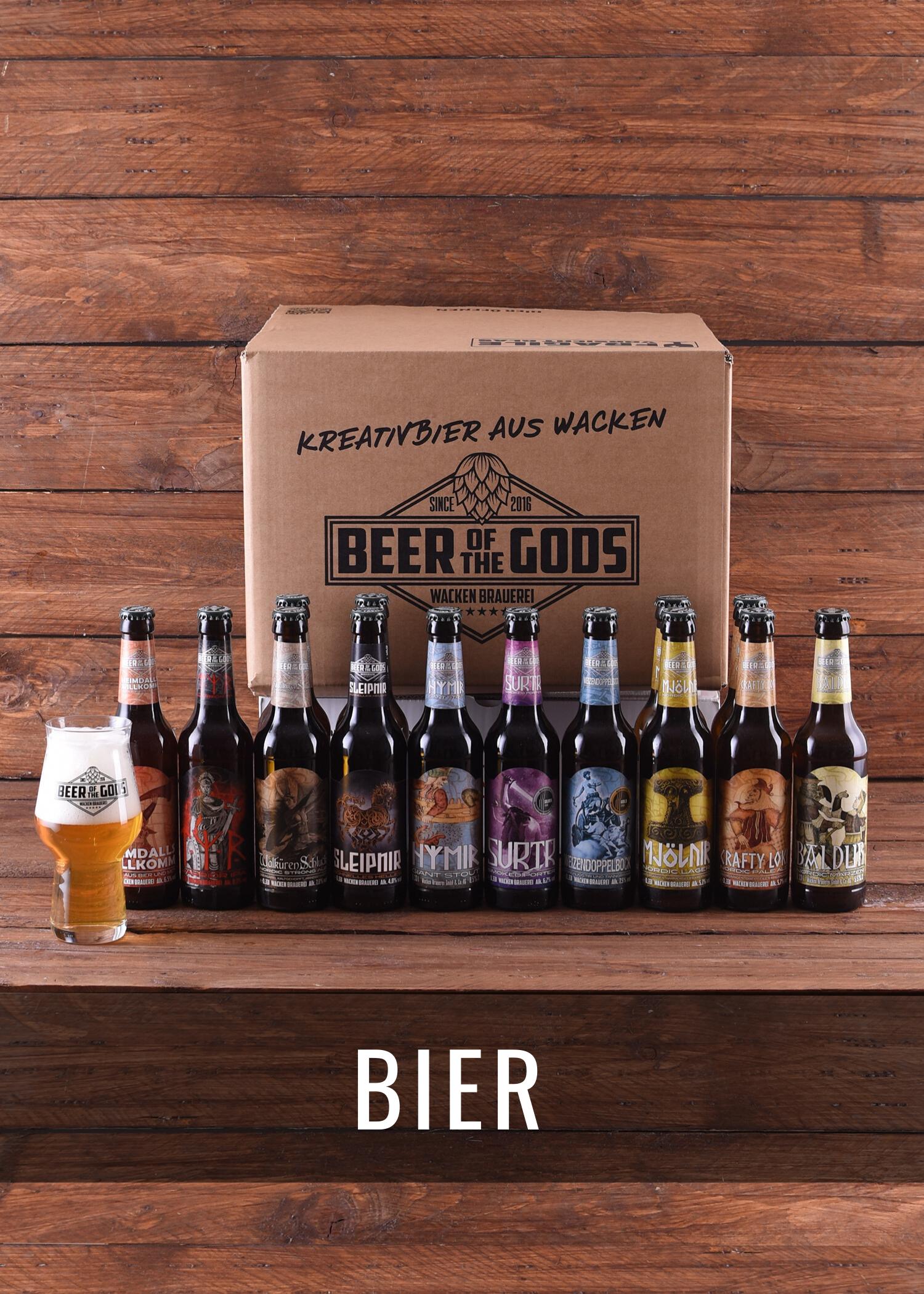 Biere - Craft Beer der Wacken Brauerei