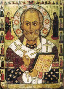 Sankt Nikolaus, Nikolaus von Myra (Russische Ikone)