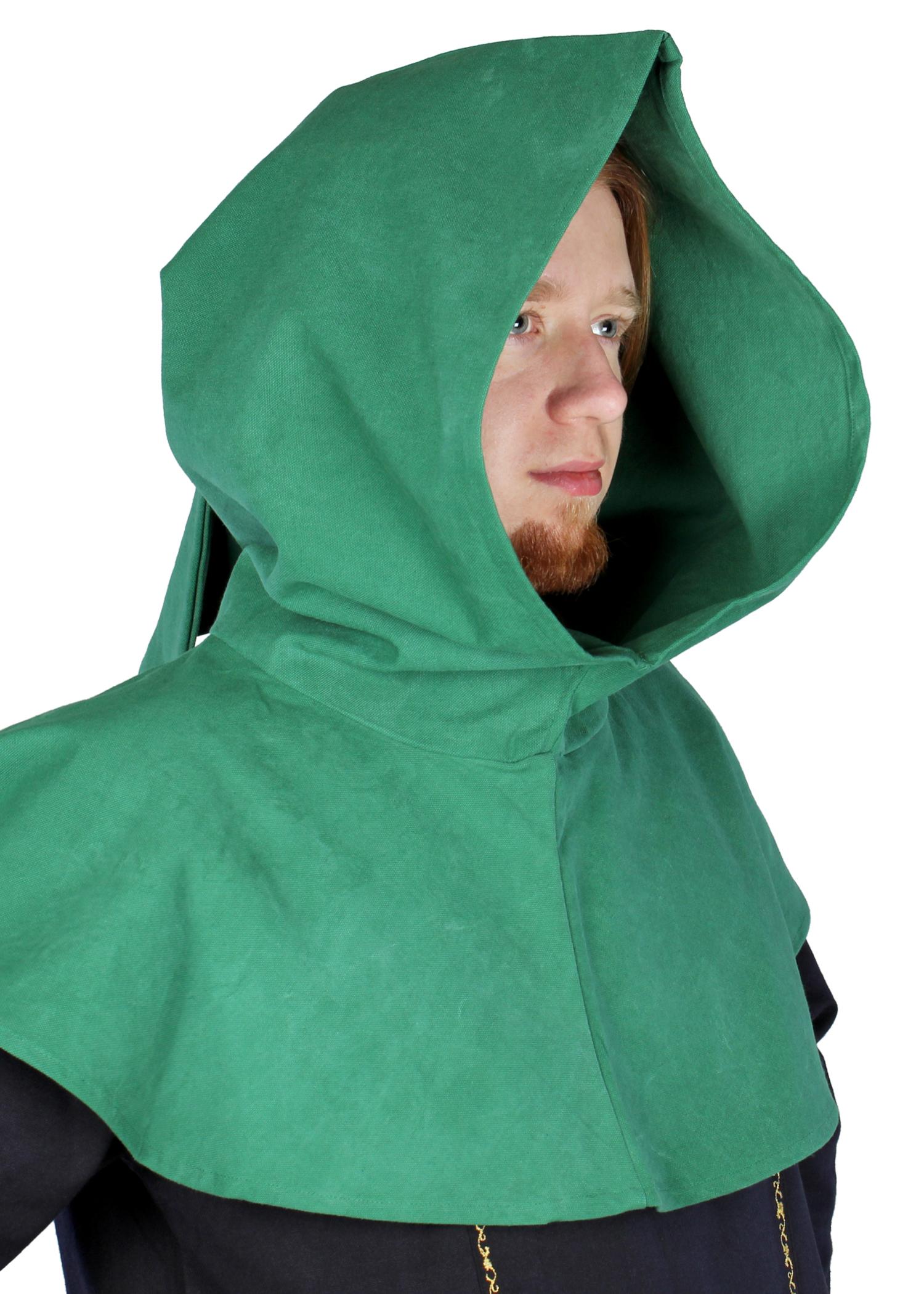 Schlichte Gugel, grün