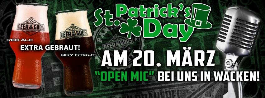 St. Patrick's Day Party in der Wacken Brauerei
