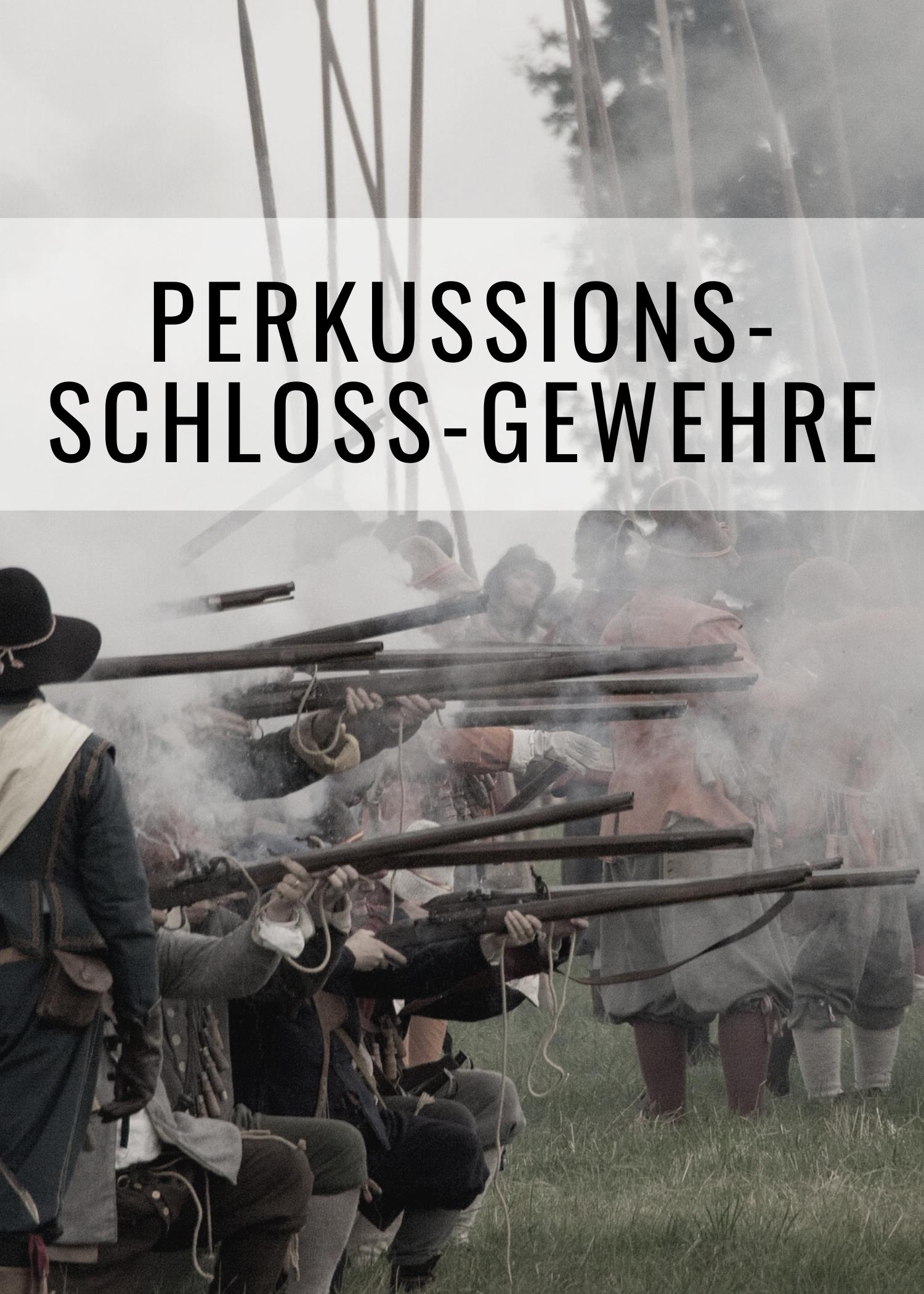 Unser Feuerwaffen-Sortiment umfasst ebenso Repliken von Perkussionsschlossgewehren.