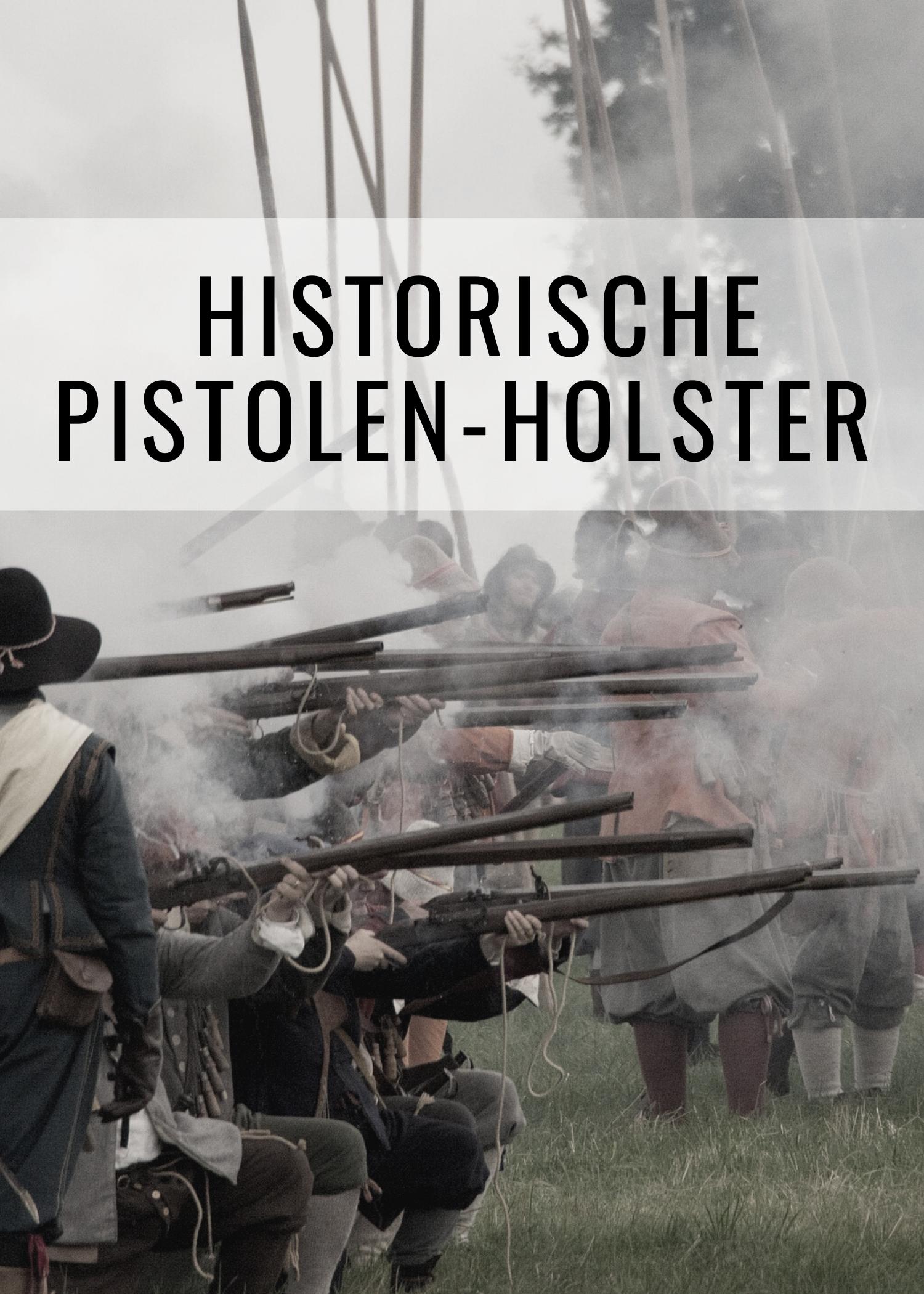 Historische Pistolen-Holster für LARP, Reenactment und Cosplay