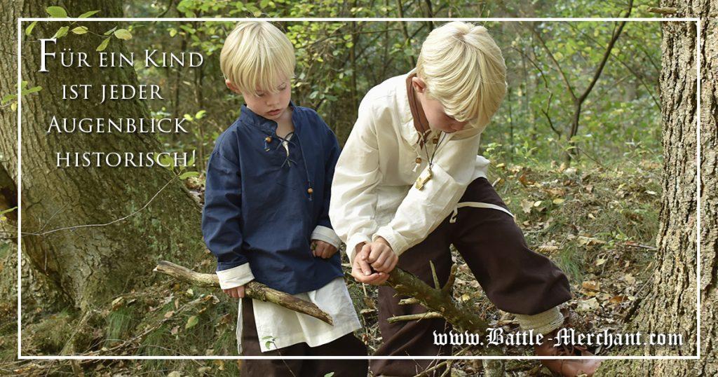 Kinder lieben Mittelalter Spielzeug - eine phantastische Zeitreise