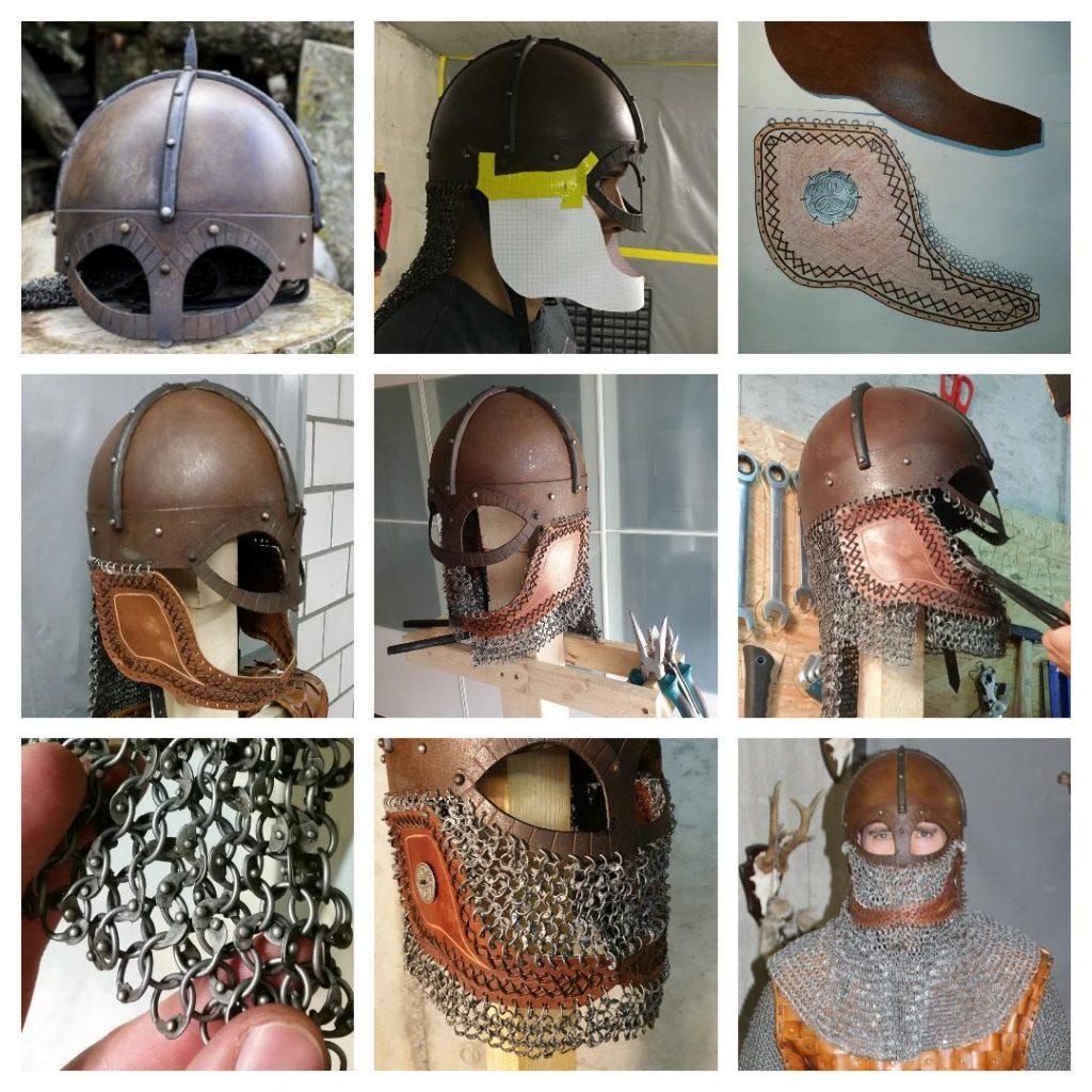 Die Entstehung des Helms von Jarl Úlfr